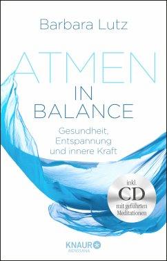 Atmen in Balance mit CD - Lutz, Barbara; Schlüter, Christiane