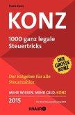 Konz - 1000 ganz legale Steuertricks 2015