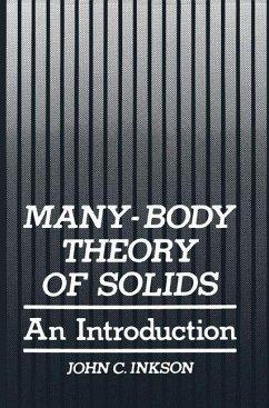 Many-Body Theory of Solids - Inkson, John C.