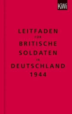 Leitfaden für britische Soldaten in Deutschland 1944 - The Bodleian Library