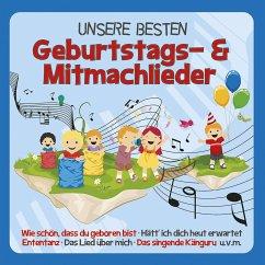 Unsere besten Geburtstags- und Mitmachlieder, 1 Audio-CD - Familie Sonntag