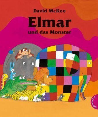 elmar und das monster von david mckee buch. Black Bedroom Furniture Sets. Home Design Ideas