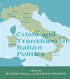 Crisis and Transition in Italian Politics (eBook, ePUB)