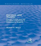 Carnival and Theater (Routledge Revivals) (eBook, ePUB)