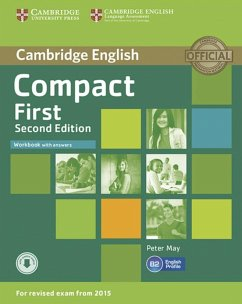 Compact First. Workbook with answers and downloadable audio - May, Peter