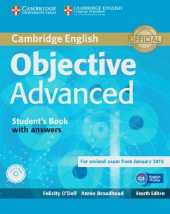 Objective Advanced. Student's Book with answers with CD-ROM - Broadhead, Annie; O'Dell, Felicity
