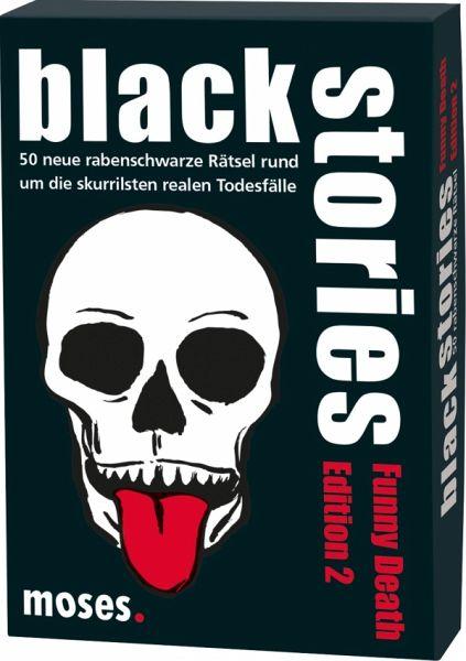 Spielzeug Rund Um Den Neuen Superhelden: Black Stories (Spiel), Funny Death Edition 2