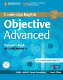 Objective Advanced. Student's Book without answers with CD-ROM