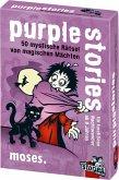 Moses MOS00802 - Purple stories, 50 magische Räsel von magischen Mächten, Junior, Kartenspiel, Familienspiel