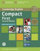 Compact First. Student's Book Pack (Student's Book with answers with CD-ROM and Class Audio CDs(2))