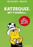 Katzequiz. Mit Fußball.