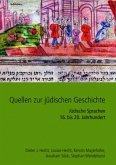 Quellen zur jüdischen Geschichte im Heiligen Römischen Reich und seinen Nachfolgestaaten