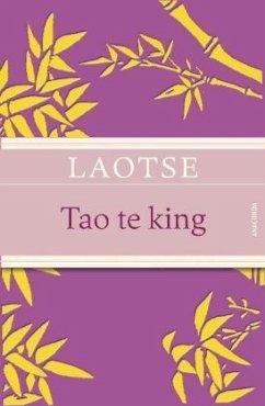 Tao te king (geprägtes IRIS®-Leinen mit Banderole) - Laotse