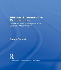 Phrase Structures in Competition (eBook, PDF) - Pintzuk, Susan