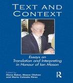 Text and Context (eBook, PDF)