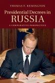 Presidential Decrees in Russia (eBook, PDF)