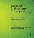 Signed Language Interpreting (eBook, PDF)