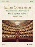 Italian Opera Arias. Italienische Opernarien, Bass und Klavier