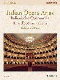 Italian Opera Arias. Italienische Opernarien, Bariton und Klavier