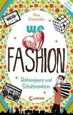 we love fashion - Röhrenjeans und Schulterpolster