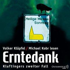 Erntedank / Kommissar Kluftinger Bd.2 (3 Audio-CDs) - Klüpfel, Volker; Kobr, Michael