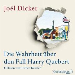 Die Wahrheit über den Fall Harry Quebert, 3 MP3-CDs - Dicker, Joël