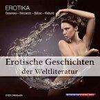 Erotische Geschichten der Weltliteratur, 2 Audio-CDs
