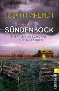Sündenbock / Schöffin Ruth Holländer Bd.2 - Arendt, Judith