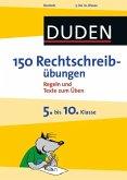 150 Rechtschreibübungen 5. bis 10. Klasse (eBook, PDF)