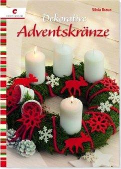 Dekorative Adventskränze (Mängelexemplar) - Braun, Silvia