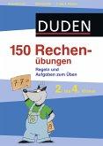 150 Rechenübungen, 2. bis 4. Klasse (eBook, PDF)