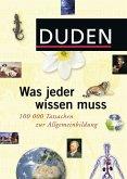 Duden - Was jeder wissen muss (eBook, PDF)