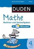 Mathe in 15 Minuten - Rechnen und Sachaufgaben 4. Klasse (eBook, PDF)
