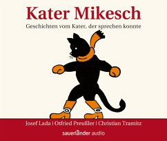 Kater Mikesch, 3 Audio-CDs - Lada, Josef; Preußler, Otfried