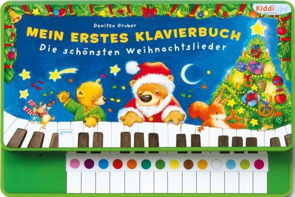mein erstes klavierbuch die sch nsten weihnachtslieder. Black Bedroom Furniture Sets. Home Design Ideas