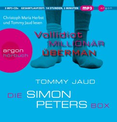 Die Simon Peters Box, 3 MP3-CDs