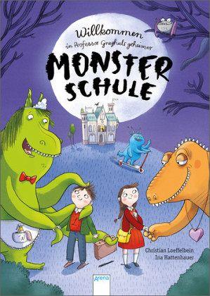 Buch-Reihe Professor Graghuls geheime Monsterschule