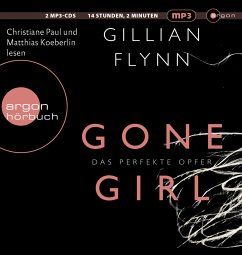 Gone Girl - Das perfekte Opfer, 2 MP3-CDs - Flynn, Gillian
