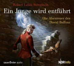 Ein Junge wird entführt, 2 Audio-CDs - Stevenson, Robert Louis