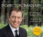 Inspector Barnaby - Die Rätsel von Badger's Drift und Requiem für einen Mörder (Sammelbox), 12 Audio-CDs