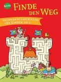 Finde den Weg. Spannende Labyrinthe für Kinder ab 5