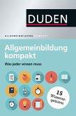 Duden - Allgemeinbildung kompakt (eBook, PDF)