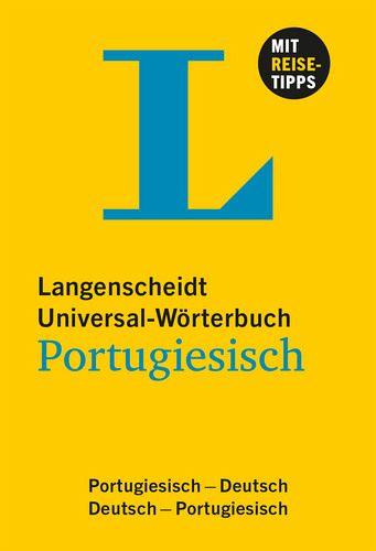 langenscheidt universal w rterbuch portugiesisch portofrei. Black Bedroom Furniture Sets. Home Design Ideas