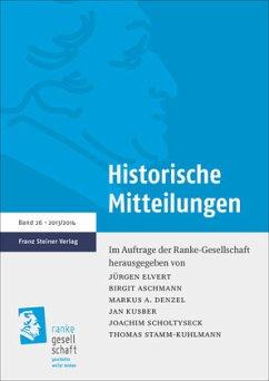 Historische Mitteilungen 26 (2013/2014)