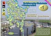 Schleswig-Holstein + Unterelbe / Jübermann TourenAtlas Wasserwandern Nr.1