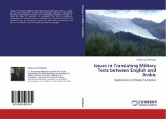Issues in Translating Military Texts between English and Arabic