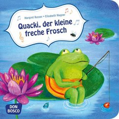 Quacki, der kleine freche Frosch - Wagner, Elisabeth