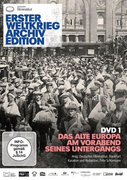 erster weltkrieg archiv edition dvd 1 das alte europa am vorabend seines film auf dvd. Black Bedroom Furniture Sets. Home Design Ideas