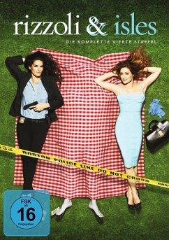 Rizzoli & Isles - Die komplette 4. Staffel (4 Discs) - Angie Harmon,Sasha Alexander,Jordan Bridges