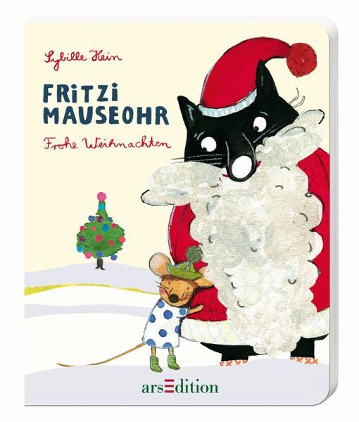 fritzi mauseohr frohe weihnachten von sybille hein. Black Bedroom Furniture Sets. Home Design Ideas